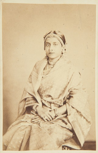 Ammachee_wife_of_His_Highness_the_Maharaja_of_Travancore_1868